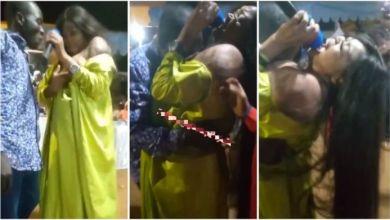 Lady Mc Offer Her Hott br£a$t 4 A Man 2 $ucks At A Party - Video Trends