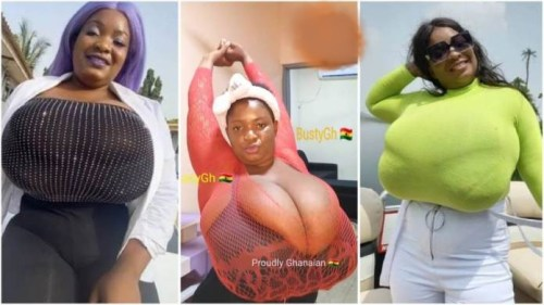 Lady With The Biggest Hot Milkshakes Br3asts Trends On Social Media - Video