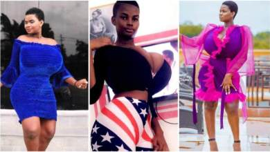 Pamela Odame Put Smile On Men Faces By Shaking Her Boobs As She Dances - Video