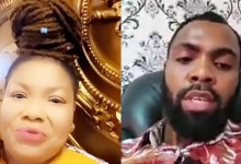 Photo of Rev Obofour Angrily Reveals Top Secrets About Nana Agradaa As They Fuel Their Beef Car (Video Below)