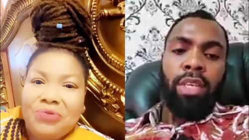 Rev Obofour Angrily Reveals Top Secrets About Nana Agradaa As They Fuel Their Beef Car (Video Below)