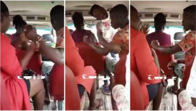 Photo of Trotro Mate N Passenger Fights Dirty Over 1 Ghana Cedi Note – Video Below