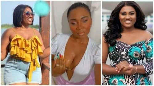 Abena Korkor Hits Again As She Flaunts Her Lovely Natural Curves N Boo␢s - Video Below