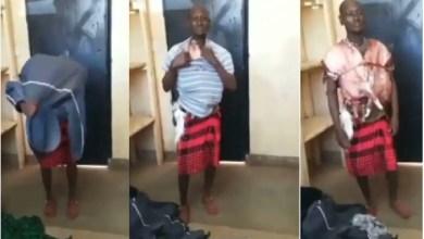 Guy Uses Goat Meat He Stole As Bullet Proof - Video Below