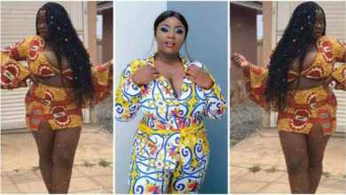 Photo of Maame Serwaa Throw Sugar On Guys By Showing Her Raw Saxxy Body – Video Trends
