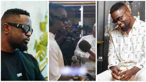 Sarkodie Awarded Customized Microphone 4 Being De Best Rapper In Africa - Video