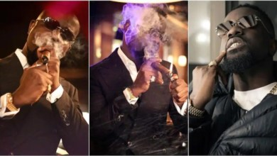 Sarkodie Gives Reasons 4 Smoking Cigars In His Recent Photos - Watch