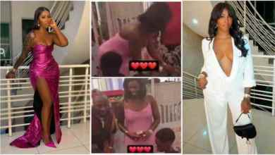 Tiwa Savage Enjoys Life To The Fullest With Davido At Ifeanyi's Birthday Party - Video