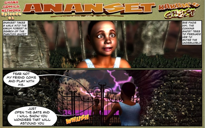 Ananset and the Ghost of Kakum