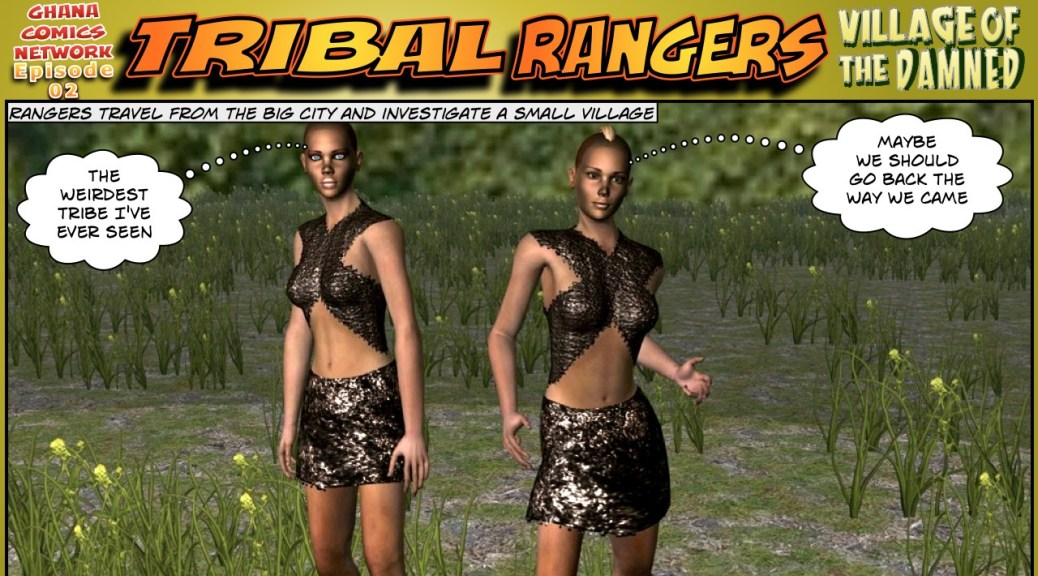 Tribal Rangers ghana comics episode 02-01