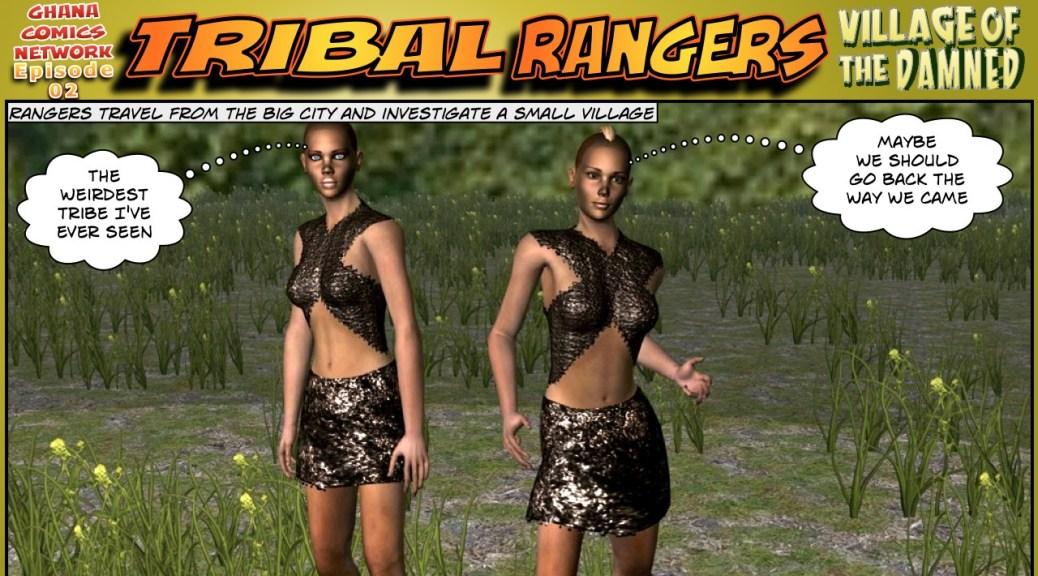 Tribal Rangers ghana comics episode 02-01