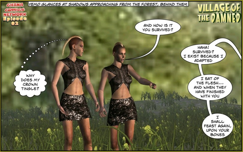 Tribal Rangers ghana comics episode 02-05