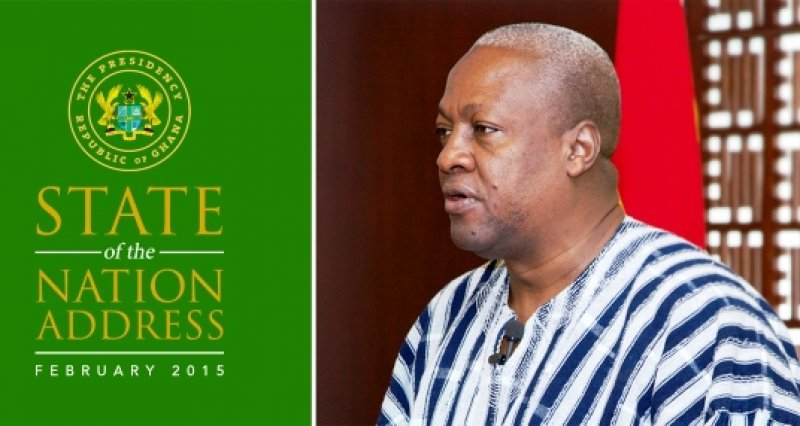 President Mahama To Present State Of Nation Address To Parliament On Thursday