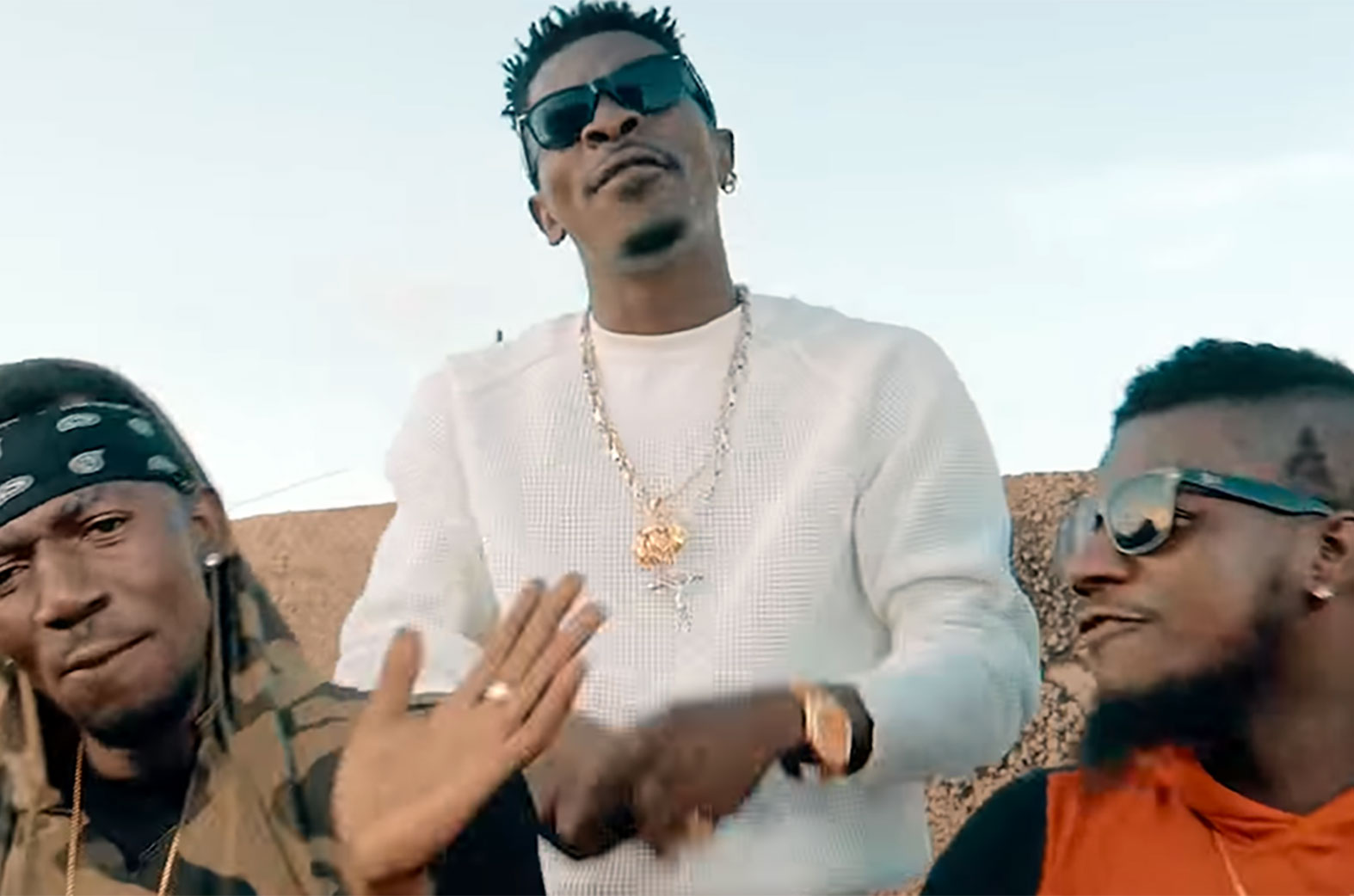 Forgetti by Shatta Wale feat. Joint 77, Addi Self, Pope Skinny, Captan & Natty Lee