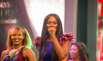 Tiwa Savage performing at Ghana Meets Naija 2017