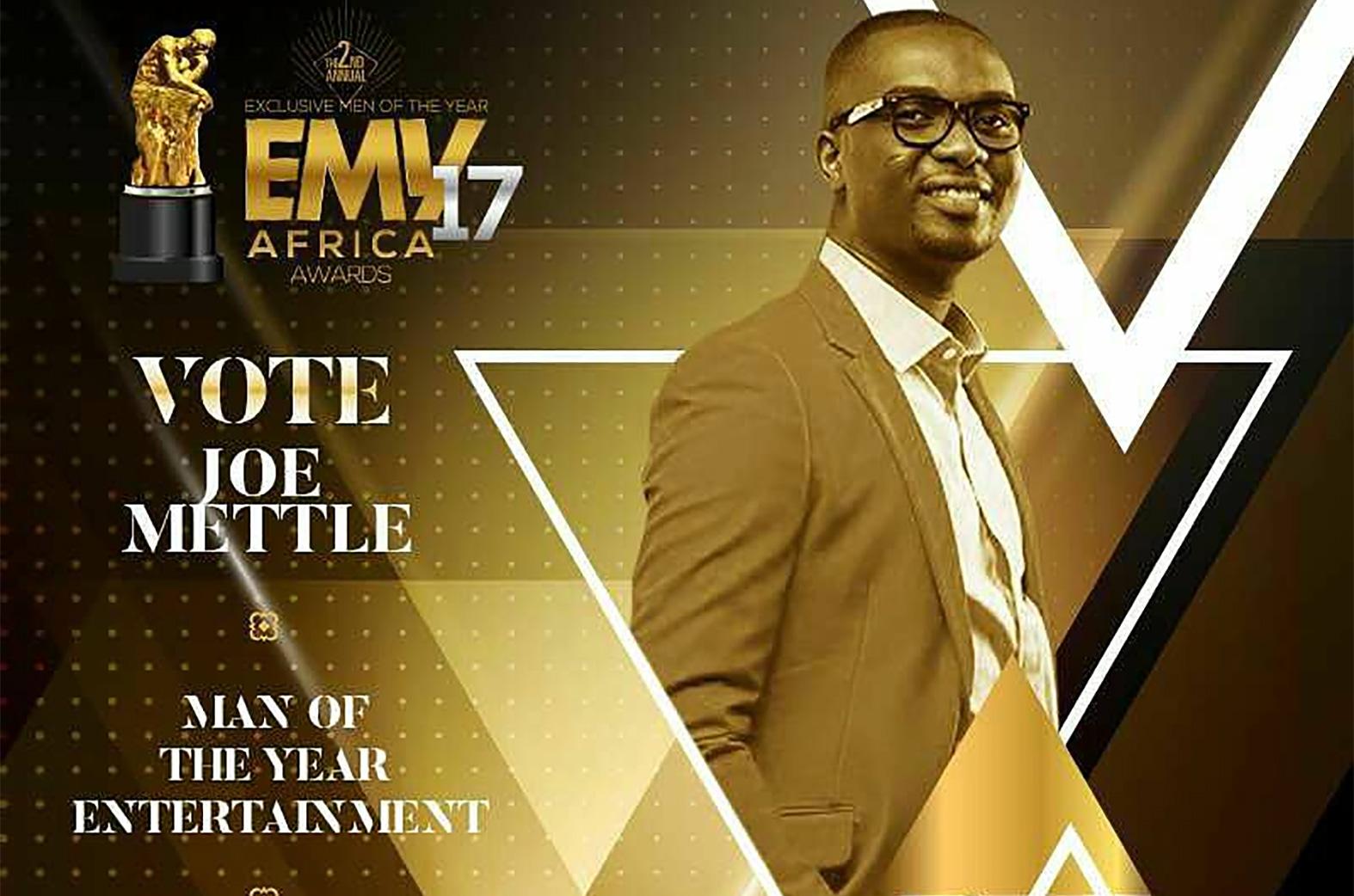 Joe Mettle @ EMYs Awards
