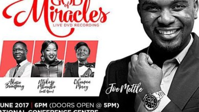 Joe Mettle live recording concert