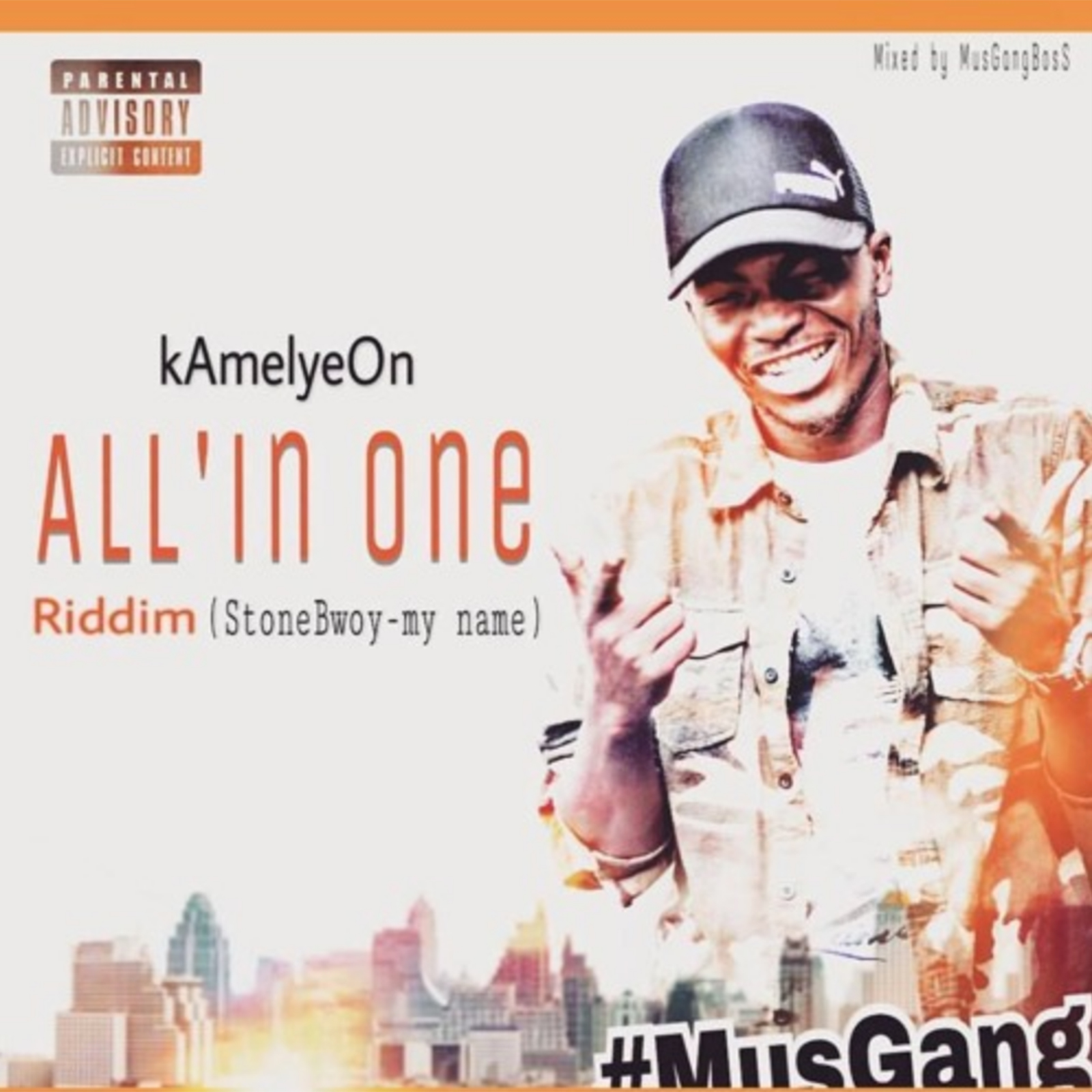 All' In One Riddim (Stonebwoy My Name cover) by Kamelyeon