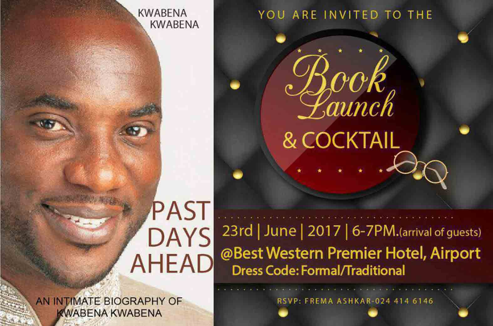 Kwabena Kwabena book launch
