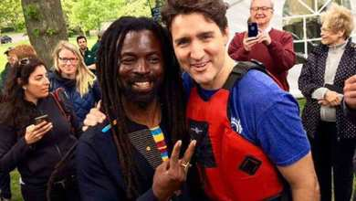 Photo of Rocky Dawuni meets Prime Minister of Canada Justin Trudeau