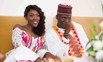 Stonebwoy marries Dr. Louisa Ansong. Photo credit: The Black Shutter