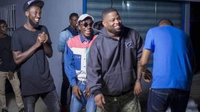 Photo of DJ Breezy surprises D-Black with 5 years appreciation hangout