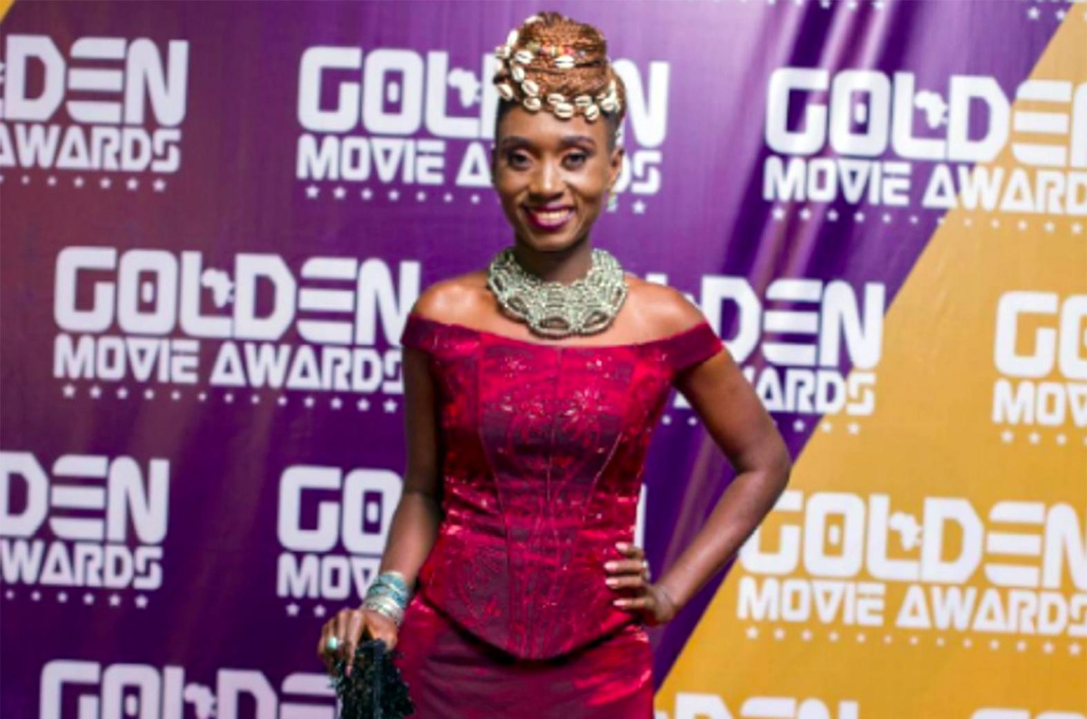 NanaYaa @ Golden Movie Awards '17
