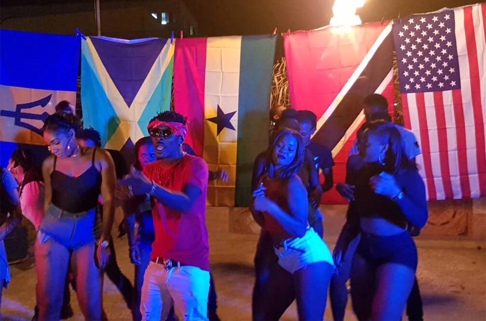 Shatta Wale shoots 3 music videos in Jamaica