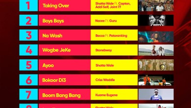 Week #22: Week ending Saturday, June 3rd, 2017. Ghana Music Top 10 Countdown.