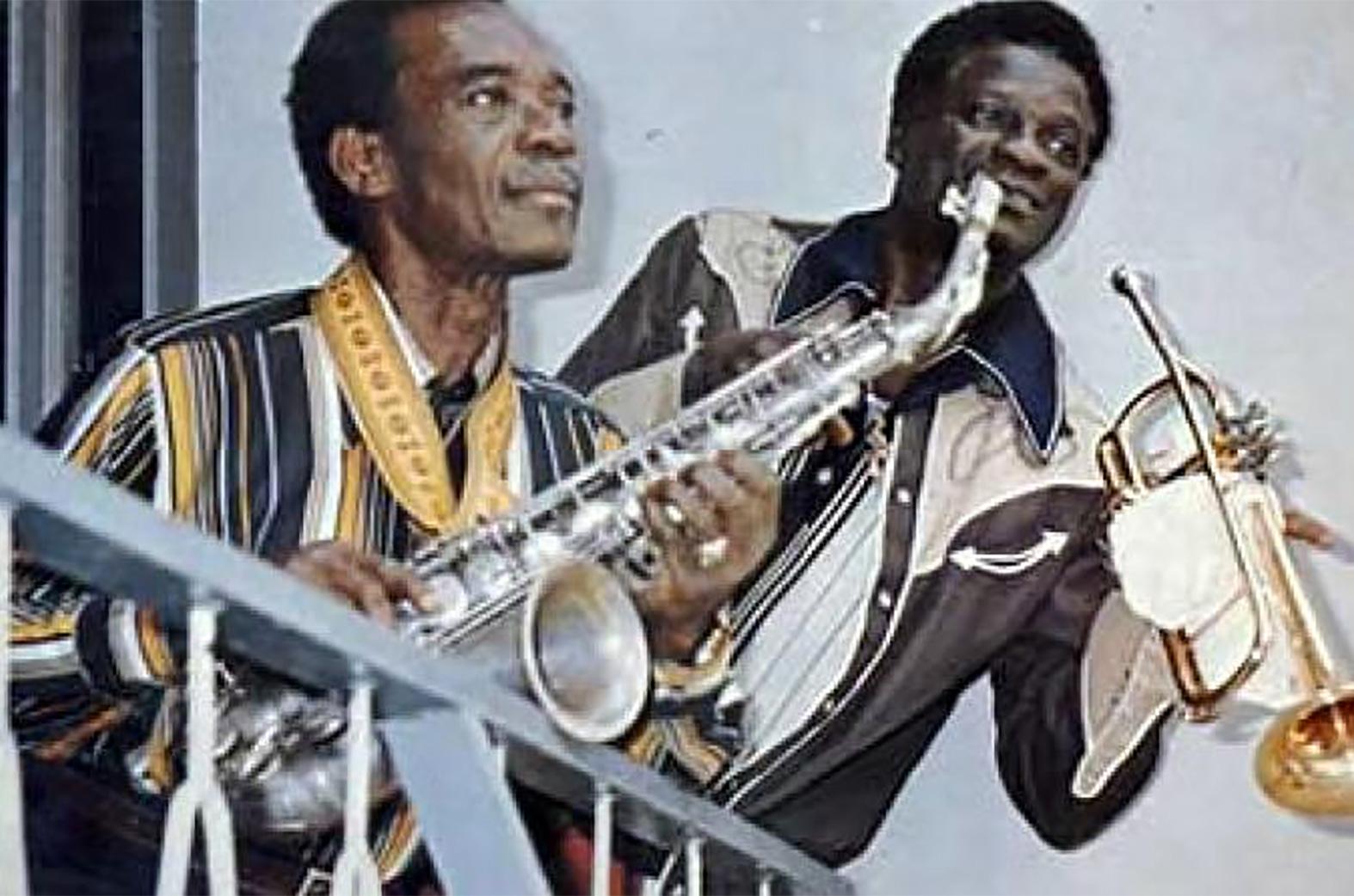 Victor Olaiya and E. T. Mensah