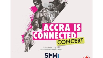 Photo of Cina Soul, Pappy Kojo, Joey B, B4Bonah & more for Accra Is Connected.