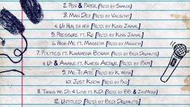 Pen & Paper tracklisting album