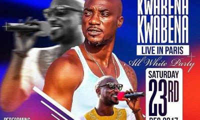 Kwabena Kwabena Live In Paris