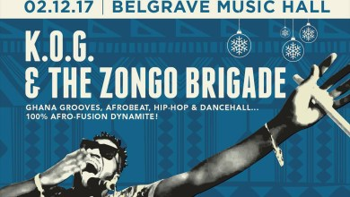 Photo of K.O.G. & The Zongo Brigade to perform in Leeds