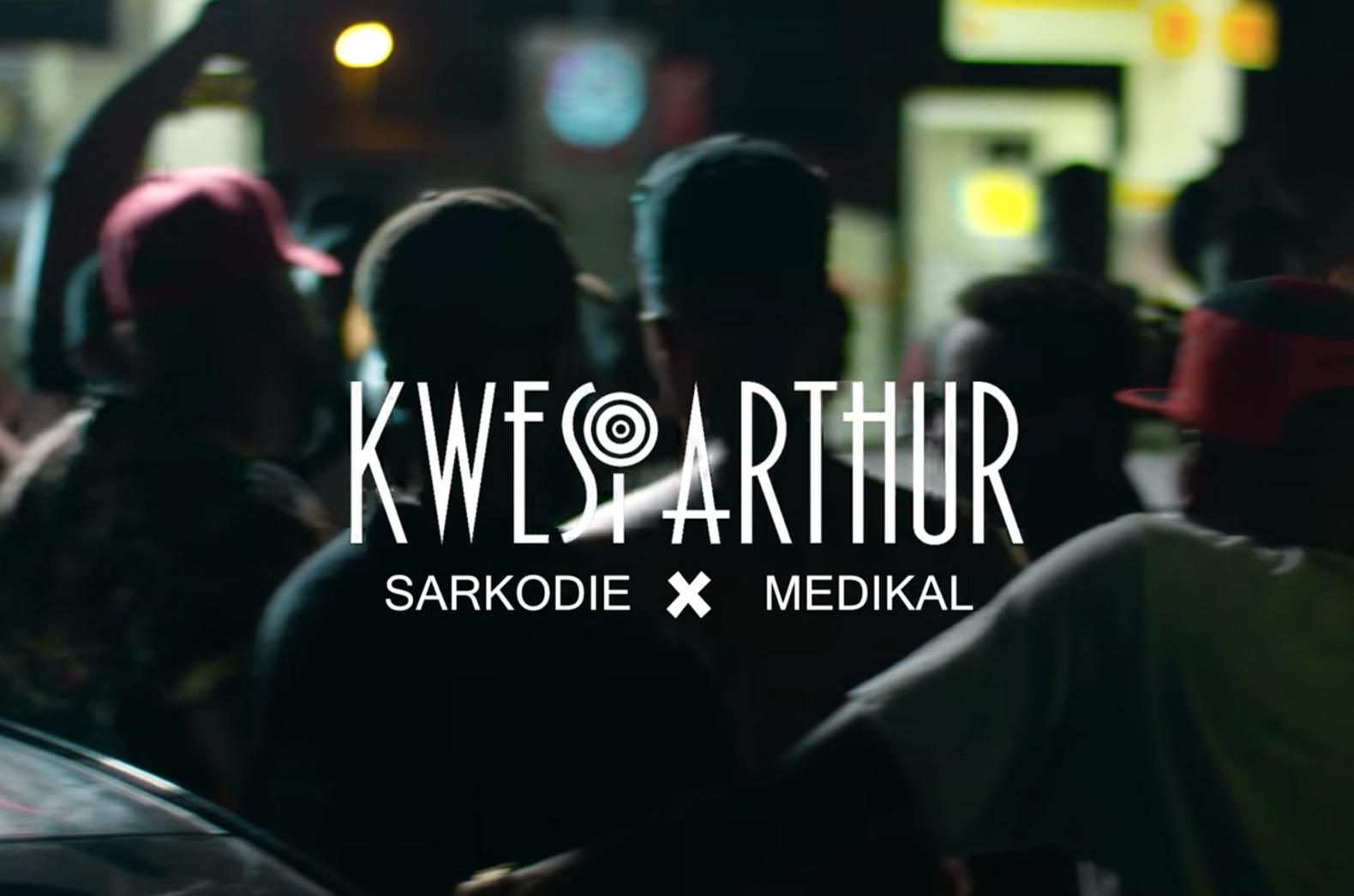 kwesi arthur, ghana music, sarkodie, medikal, grind day remix