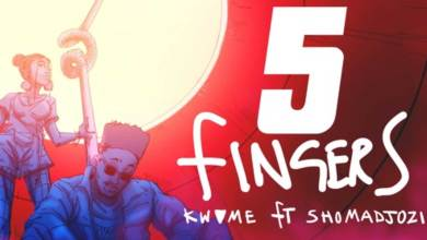 Photo of Audio: 5 Fingers by Kwame ft. Sho Madjozi