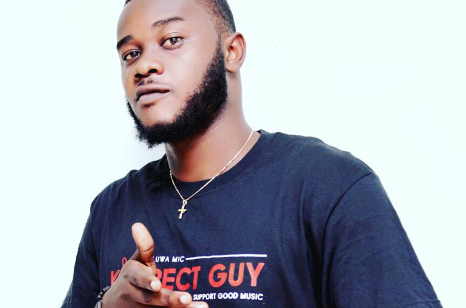 Oluwa Mic says a prayer for his fans