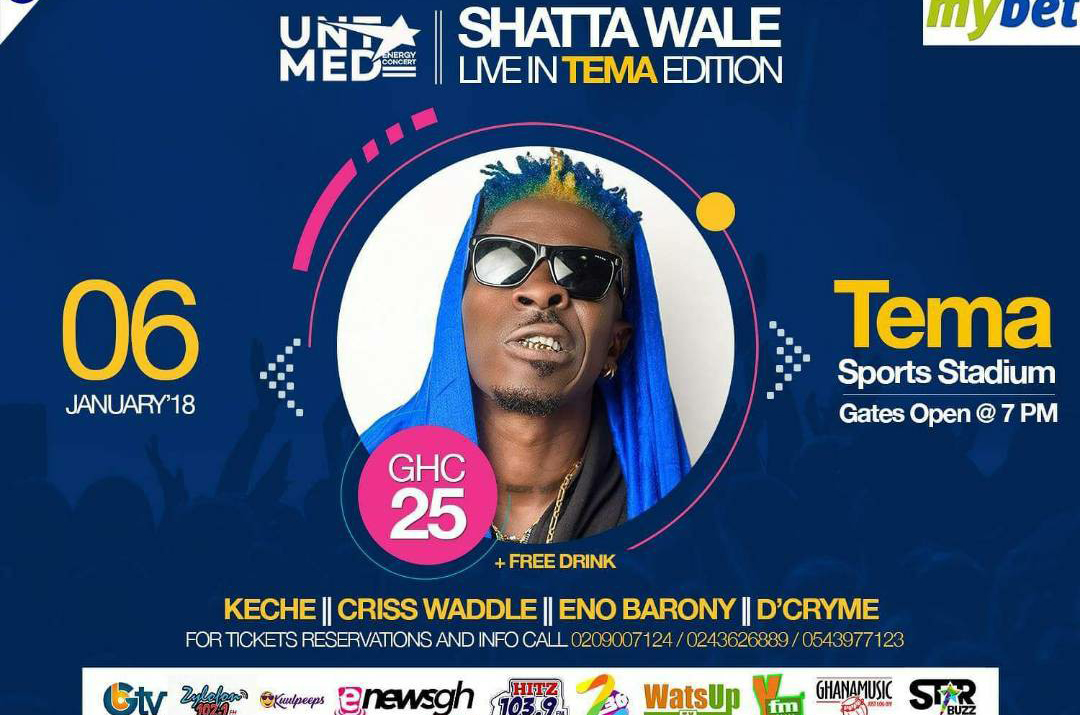 SHATTA WALE, UNTAMED ENERGY CONCERT, GHANA MUSIC