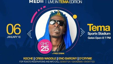Photo of Shatta Wale up for a first time performance in Tema