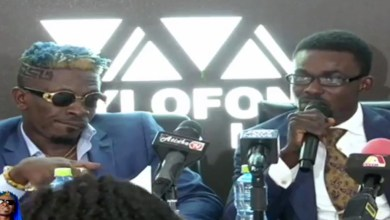 Photo of Shatta Wale outdoored as latest Zylofon Music artiste