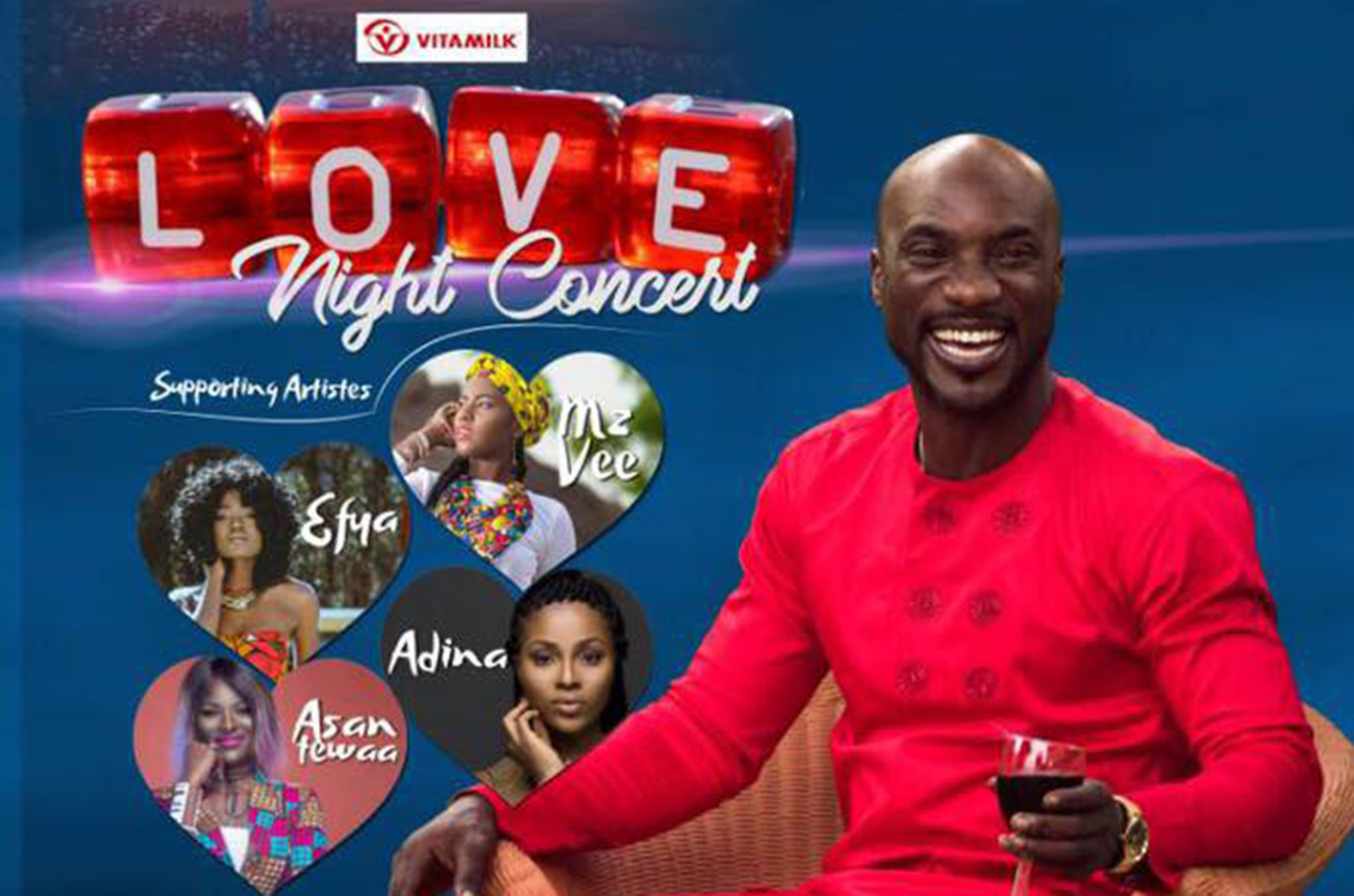 Kwabena Kwabena to host Love Night Concert