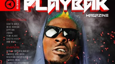 Photo of Shatta Wale covers the 3rd Edition of Playbak Magazine