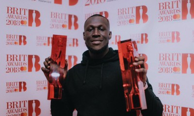 Stormzy wins 2 and lights up 2018 Brits Awards