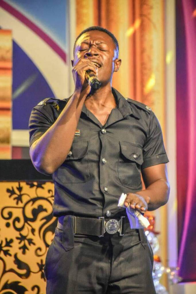 Another gospel star emerges from the Ghana Police Service