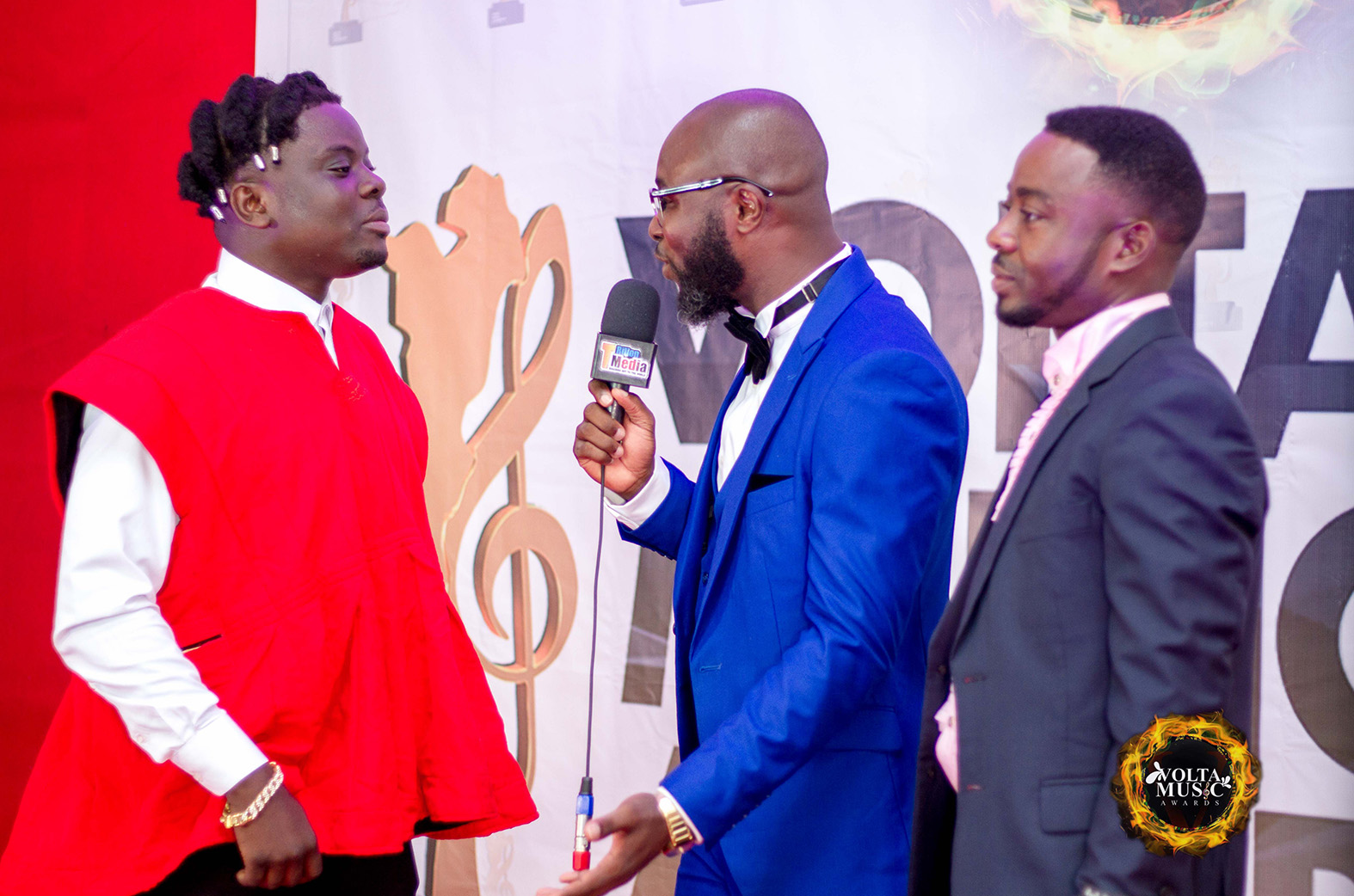 Agbeshie, Kasare, Keeny Ice, and others win at Volta Music Awards