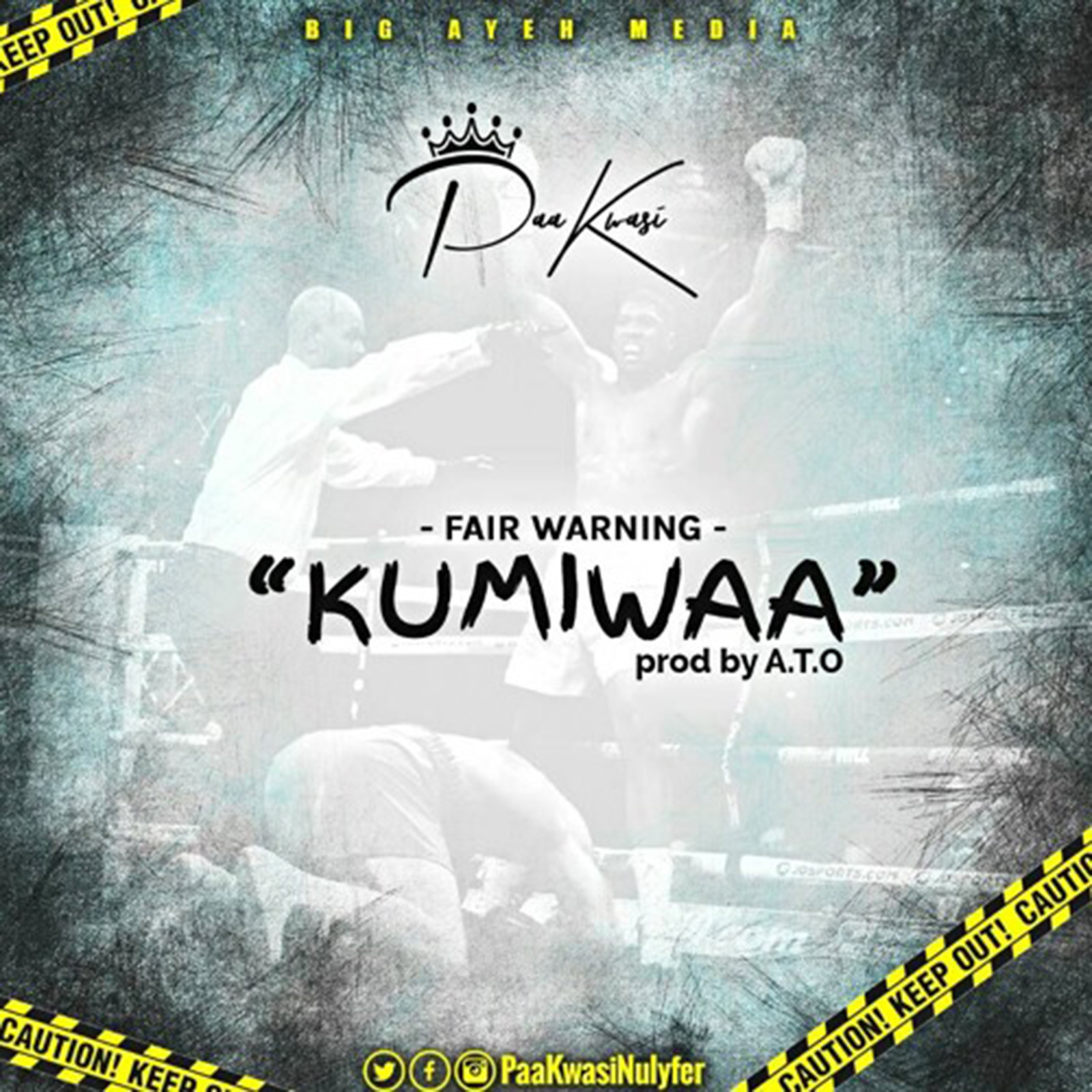 Kumiwaa (Kumi Guitar Diss) by Paa Kwasi