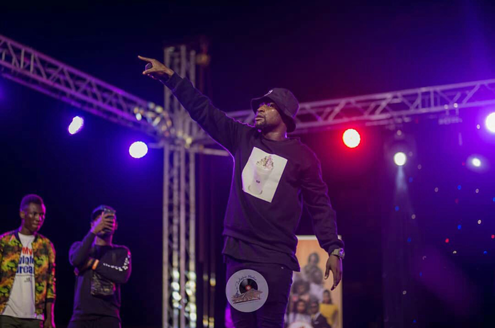 Keeny Ice steals show at Zylofon Cash Activation concert