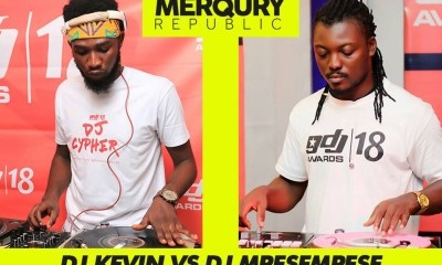 DJ Mpesempese to battle DJ Kevin at 2018 Ghana DJ Awards