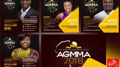 Joe Mettle, Niiella & more nominated for AGMMA 2018