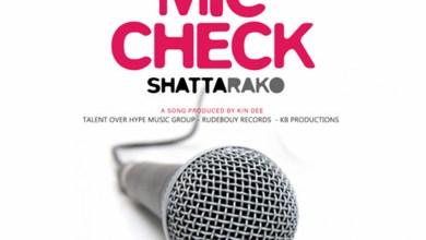 Photo of Audio: Mic Check by Shatta Rako